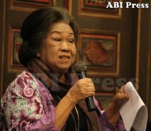 Prof. Dr. Toeti Heraty, sebagai budayawan