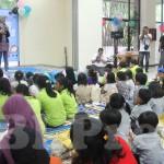 Bersama Anak Korban Diskriminasi di Hari Anak Internasional