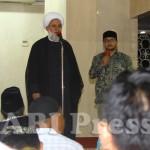 Ulama Iranm Pidato di Masjid Istiqlal