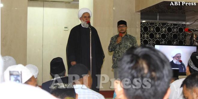 Ulama Iran Pidato di Masjid Istiqlal Isu Negatif Bermunculan