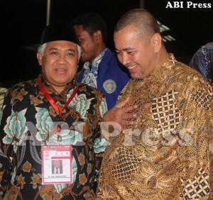 Dien Syamsuddin dan Hasan Alaydrus