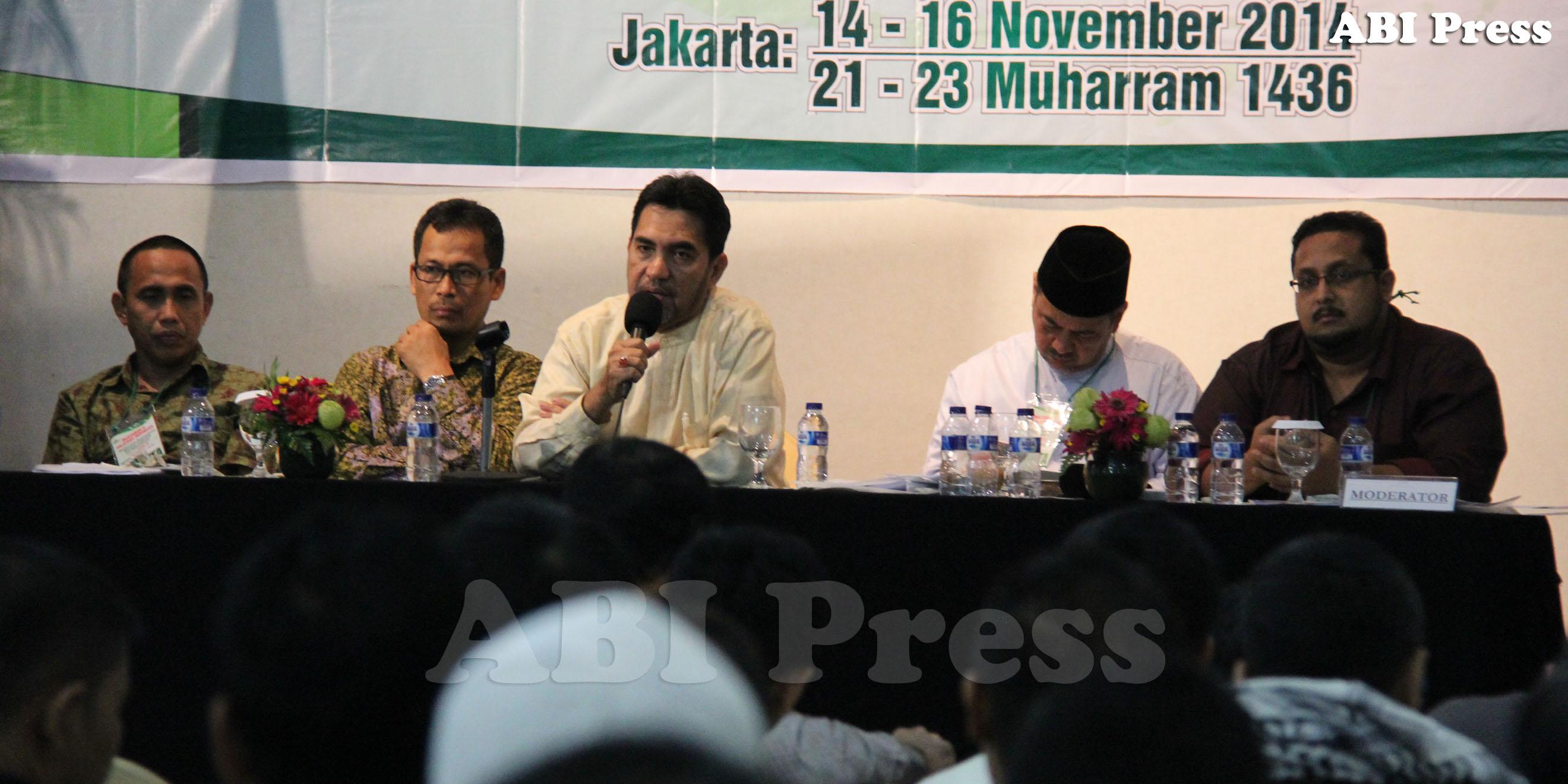 Pesan Ketua Dewan Syura dan Ketum ABI Terpilih dalam Muktamar ABI Ke-2