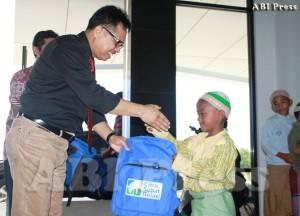 Bantuan RCTI Peduli dan DPW ABI Sulawesi Tengah