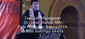 Tausyiah Kebangsaan Ustaz Umar Shahab Pada Asyura 2014