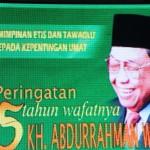 Peringatan 5 Tahun Wafatnya KH. Abdurrahman Wahid