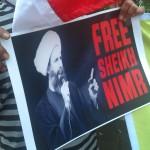 Demo Bebaskan Syeikh Nimr