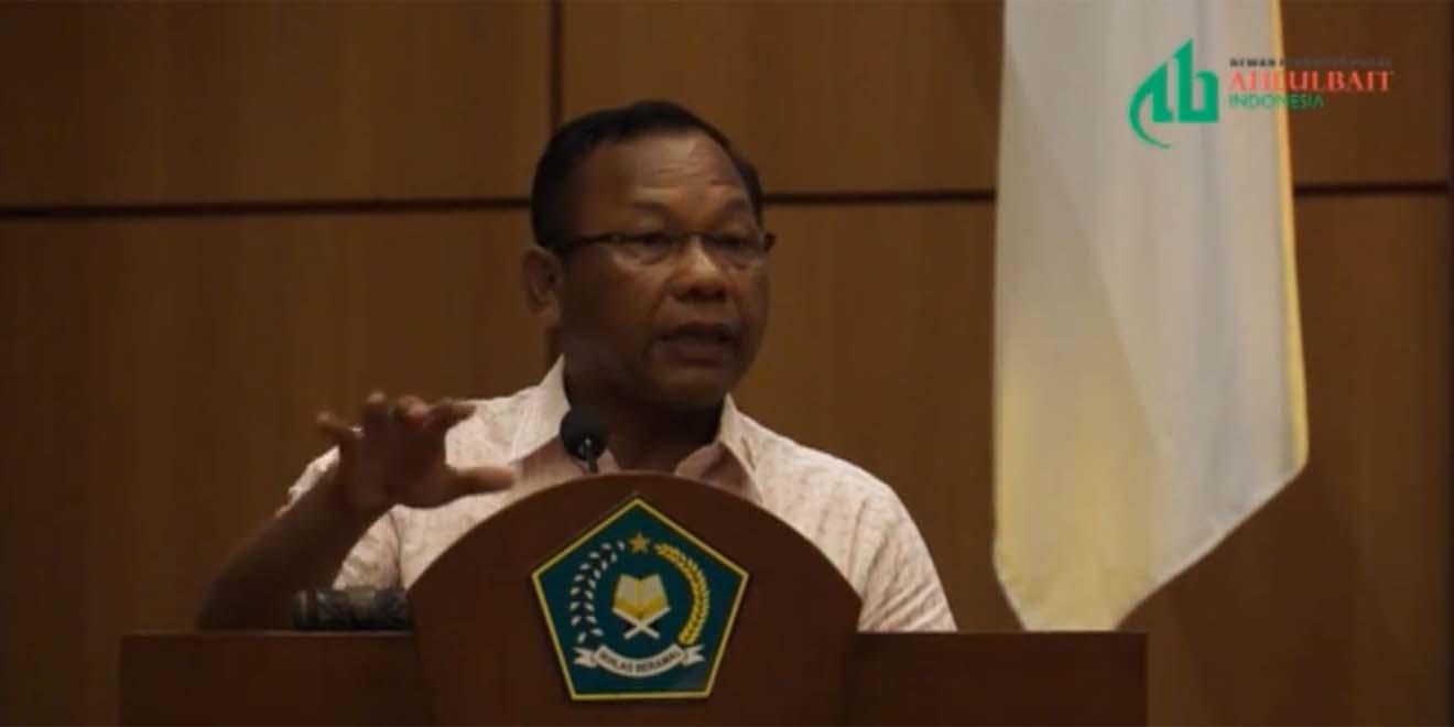 Paparan Komjen Pol Saud Usman Nasution Kepala BNPT Pada Seminar di Pembukaan Muktamar II ABI