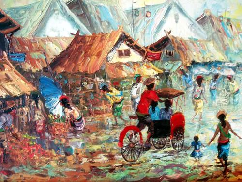 Kang Rahmat, Lewat Seni Merekam Aksi