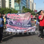 ABI Press_Aksi Demo di Car Free Day