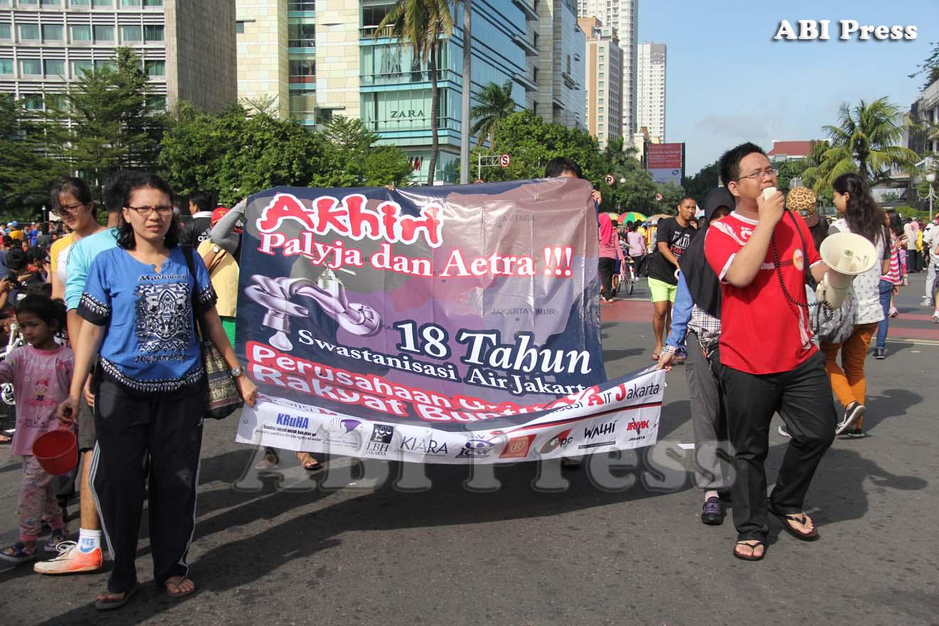 ABI Press_Aksi Demo di Car Free Day