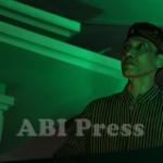 ABI Press_Lukisan pasir di Haul Gus Dur
