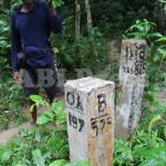 ABI Press_Tapal Batas Taman Nasional Ujung Kulon