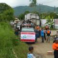 DPD ABI Bandung Menuju Lokasi korban banjir
