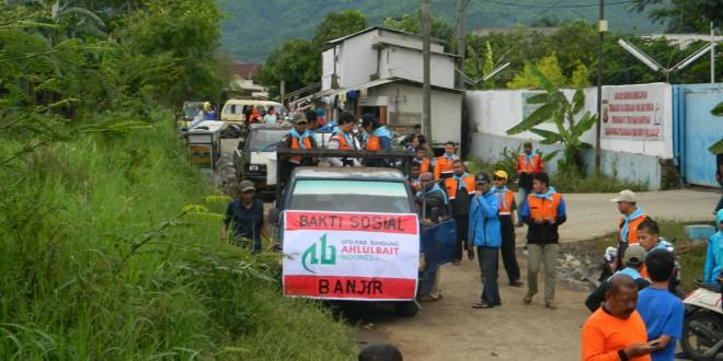 DPD ABI Bandung Bantu Korban Banjir