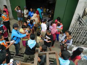 Bantuan Korban Banjir oleh DPD ABI Bandung