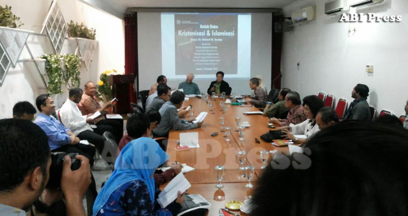 ABI Press_Bedah Buku Islamisasi dan Kristenisasi