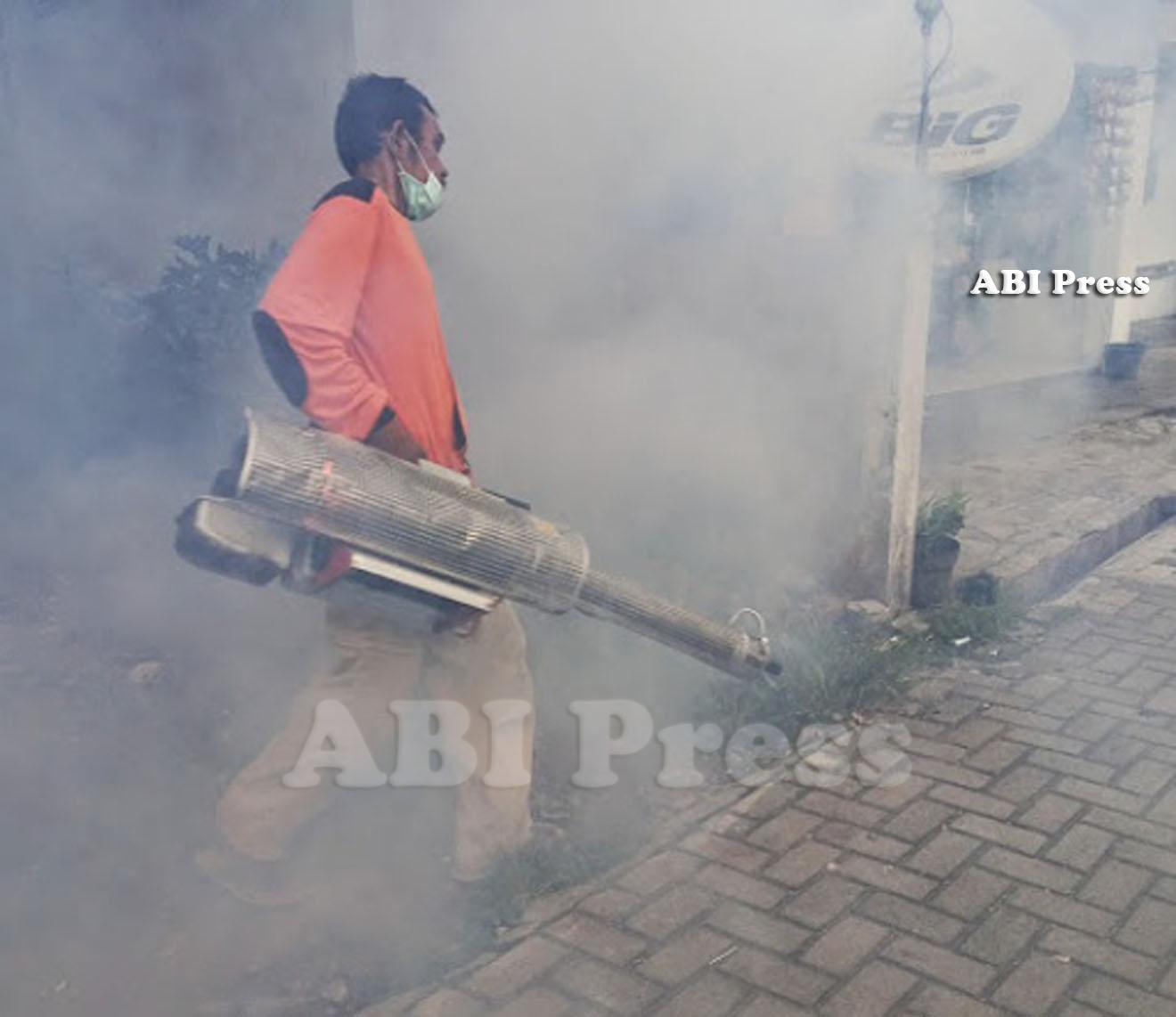 Fogging Gratis KAUSAR, DPW ABI Jawa Tengah