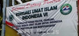 Kongres Umat Islam Indonesia (KUII) Bukan Kongres Satu Ormas