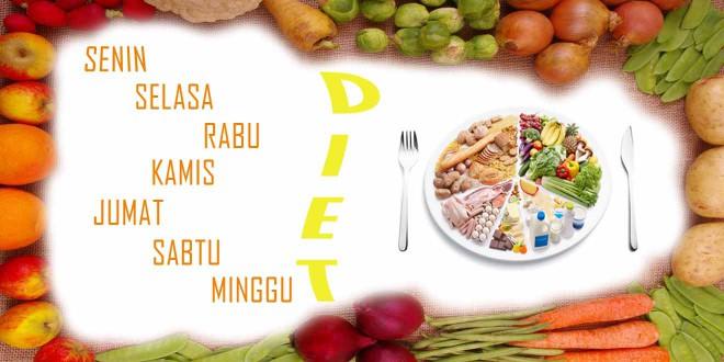 Tips Diet Langsing Sehat dalam 7 Hari