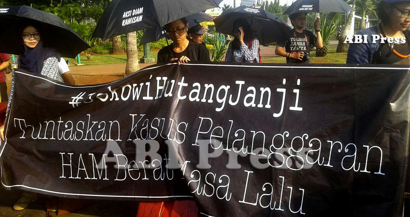 Aksi Kamisan Tuntut Negara Atasi Macet Penuntasan K S Hamahlulbait