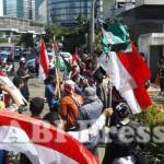 Demo di depan Kedutaan Arab Saudi