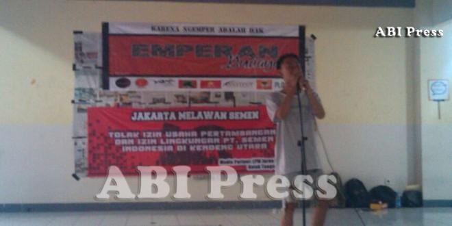 Mahasiswa UIN Jakarta Gelar Budaya Emperan