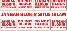 Jangan Blokir Situs Islam