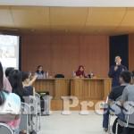 diskusi publik di auditorium Ilmu Komunikasi FISIP UI Depok