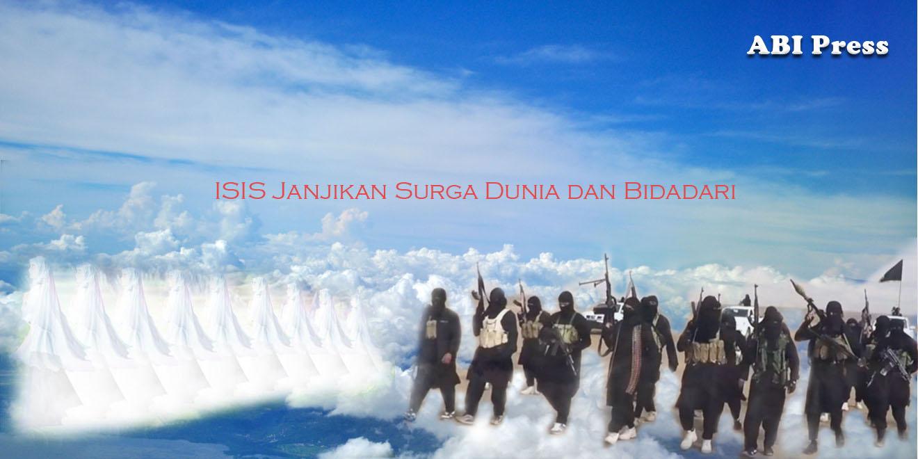 ISIS Janjikan Surga Dunia dan Bidadari