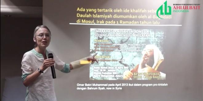 "Sidney Jones ""ISIS Ancaman bagi Indonesia"""