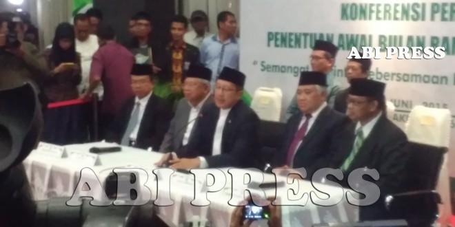 Pemerintah Putuskan Awal Ramadhan Kamis 18 Juni 2015