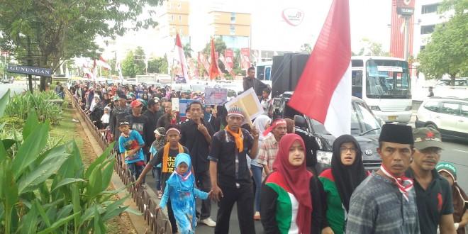Demo Akbar Yaumul Quds Semarang