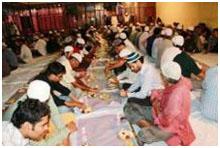 Buka Bersama Sunni Syiah di Chennai India
