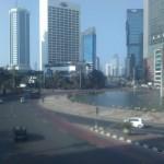 Lengang Jakarta di Hari Raya