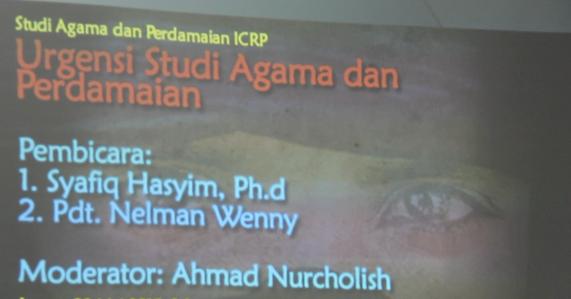 Sekolah Agama ICRP 22 Mei 2015 Bagian 2/4