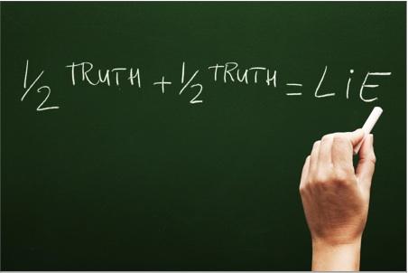 Bahaya Separuh Kebenaran