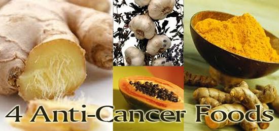 Empat Makanan Anti Kanker