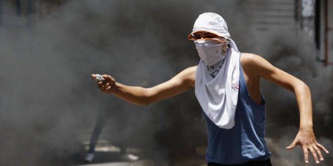 Netayahu Ancam Tembak Pelempar Batu