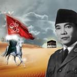 Garis Linier Perjuangan Soekarno dan Imam Husain