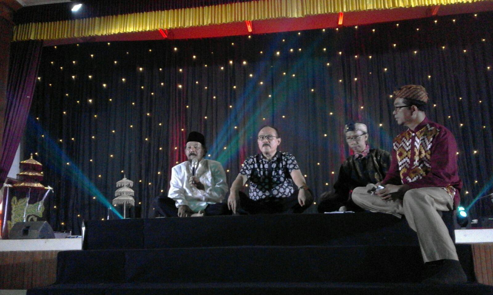 Sabilulungan: Selami Budaya Nusantara Kembalikan Islam Damai Di Tengah Umat