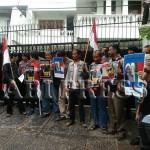 Aliansi Anti Perang Kembali Demo Kedubes Nigeria