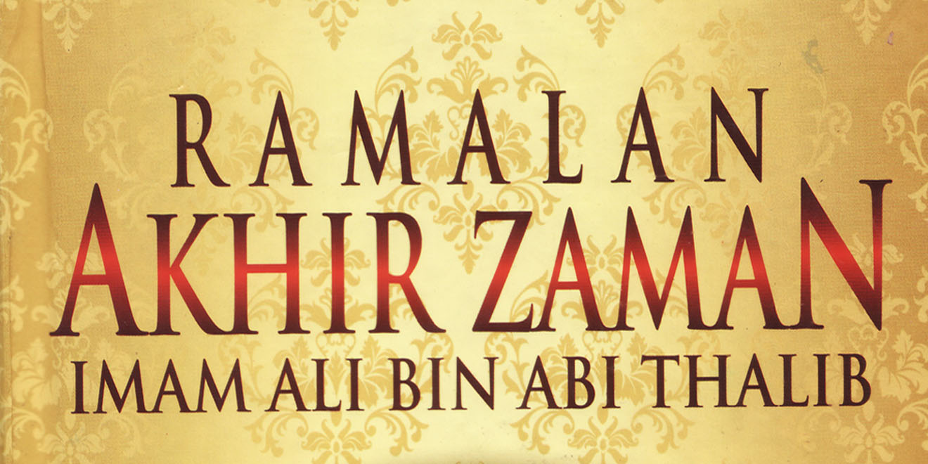 Resensi Buku Ramalan Akhir Zaman Imam Ali bin Abi Thalib
