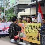 Demo HRA dan A2P Tuntut Arab Saudi Stop Agresi Yaman