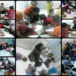Aksi Akar Teki di Pengungsian Syiah Sampang