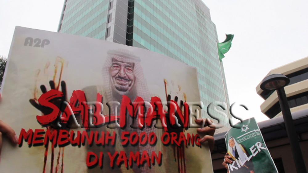 Video : HRA dan A2P Demo Kedubes Saudi