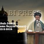 Khutbah Shalat Jumat Bersama Sayyid Musavi