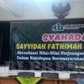 Syahadah Sayyidah Fathimah Azzahra as