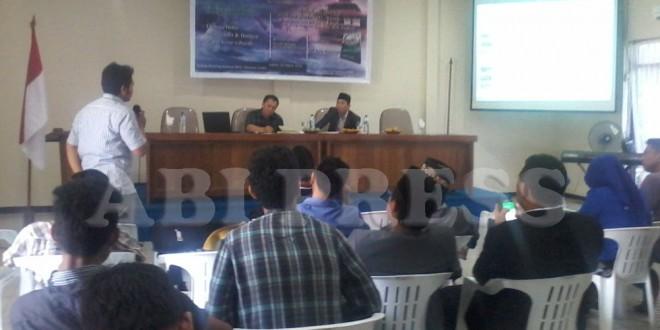LESBUMI NU Sulut Gelar Diskusi Buku Bulan Sabit di Nusa Utara