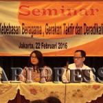 Seminar Kebebasan Beragama, Gerakan Takfir dan Deradikalisasi