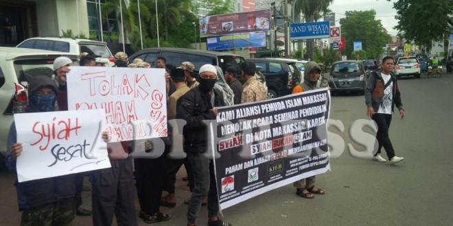Seminar Pendidikan di Makassar Dihentikan Paksa Kelompok Intoleran